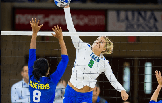 FGCU volleyball extends win-streak to 14 with a straight set victory over NJIT