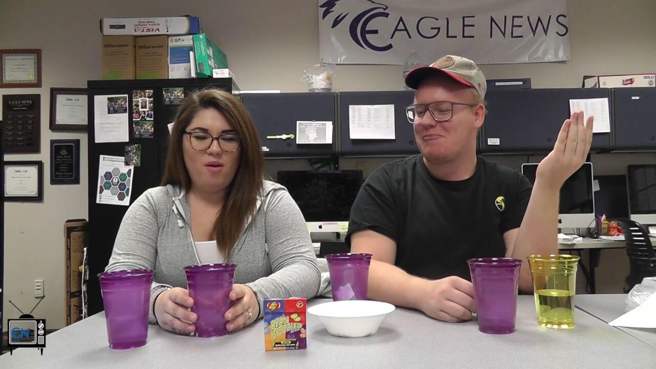 Eagle News Does: The Bean Boozled Challenge