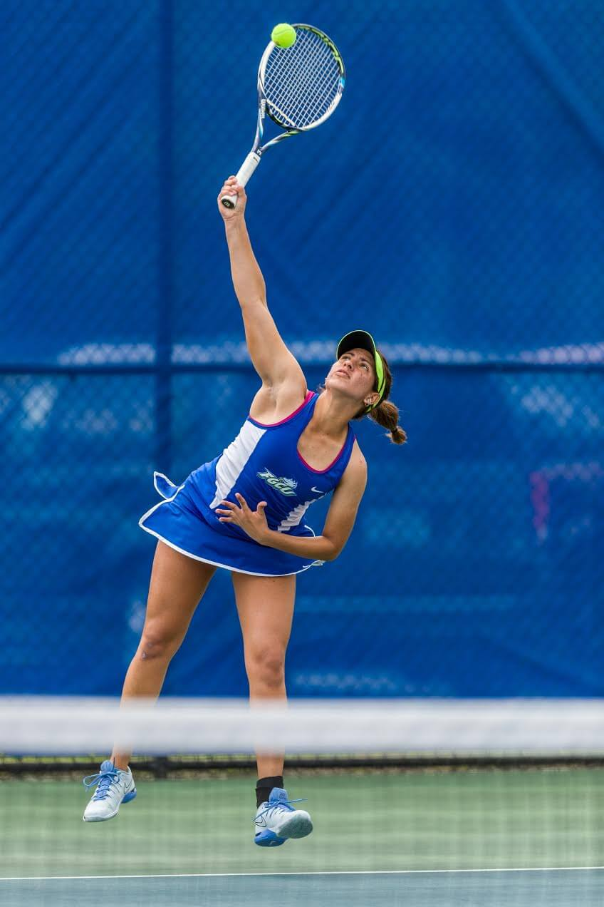 Sofia Blanno takes singles title as FGCU women's tennis team opens season at Bedford Cup