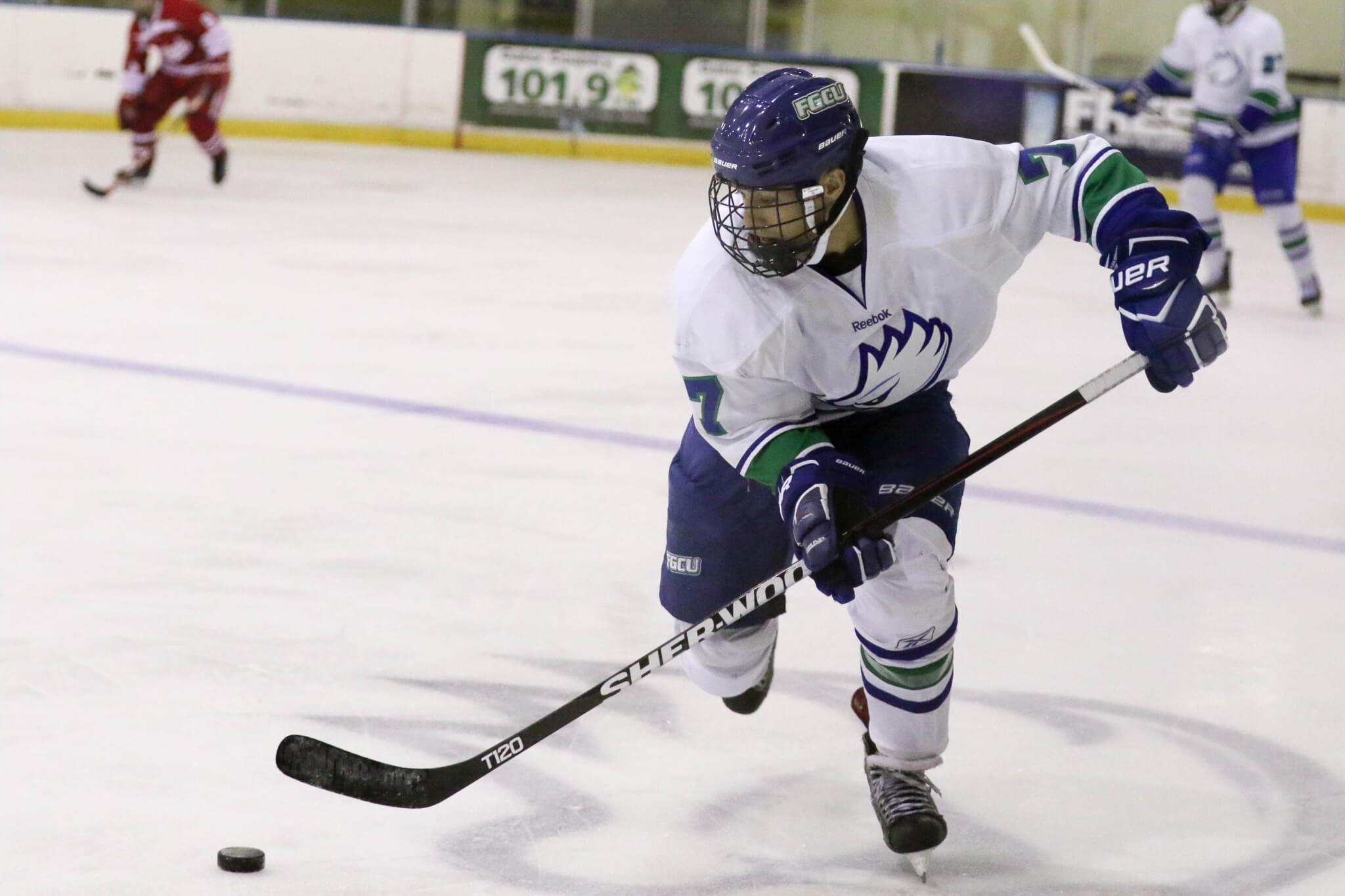 FGCU DII hockey ranked No. 1 in first ACHA poll
