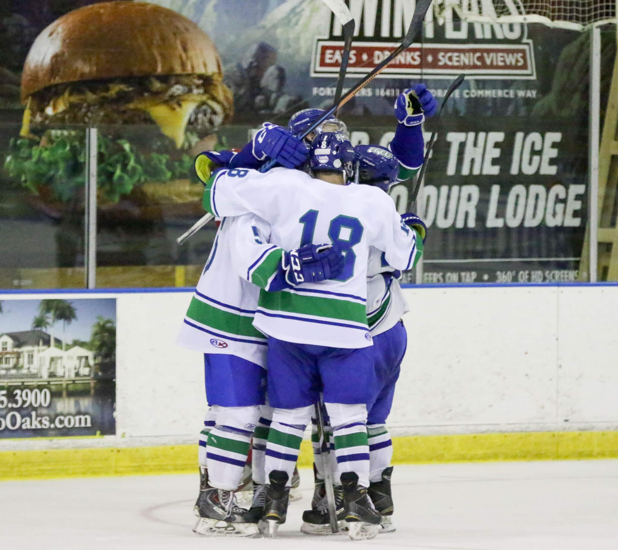 FGCU DII hockey completes first road trip, stay unbeaten