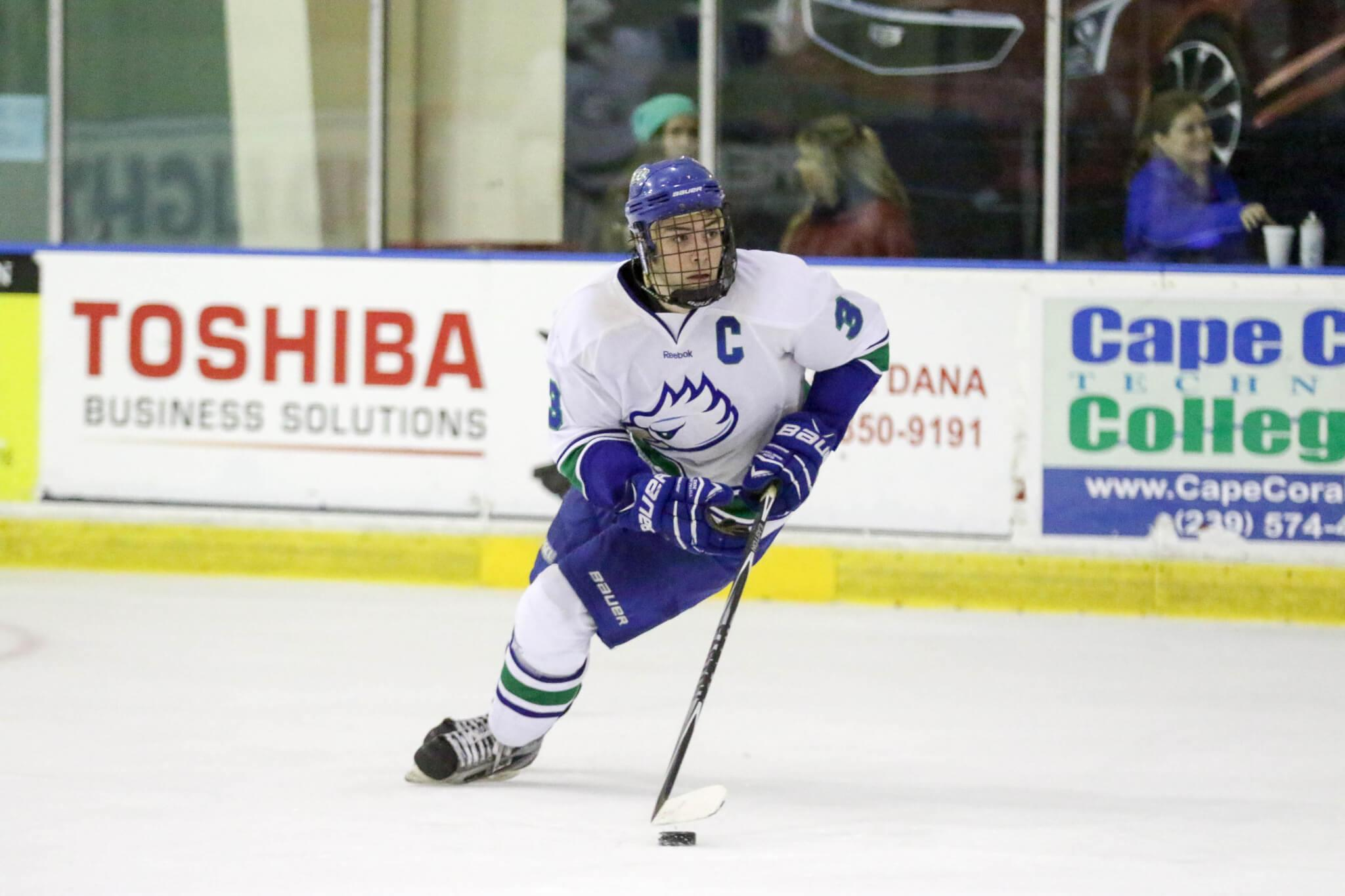 FGCU DII Hockey complete first road trip, stay unbeaten