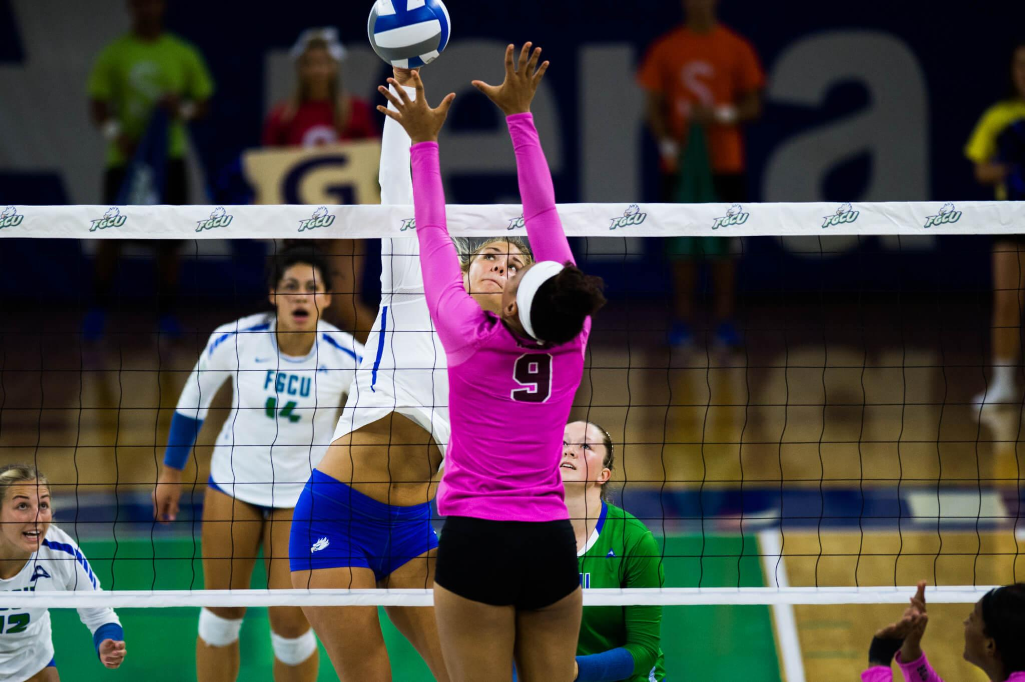 FGCU volleyball falls to Lipscomb in ASUN final