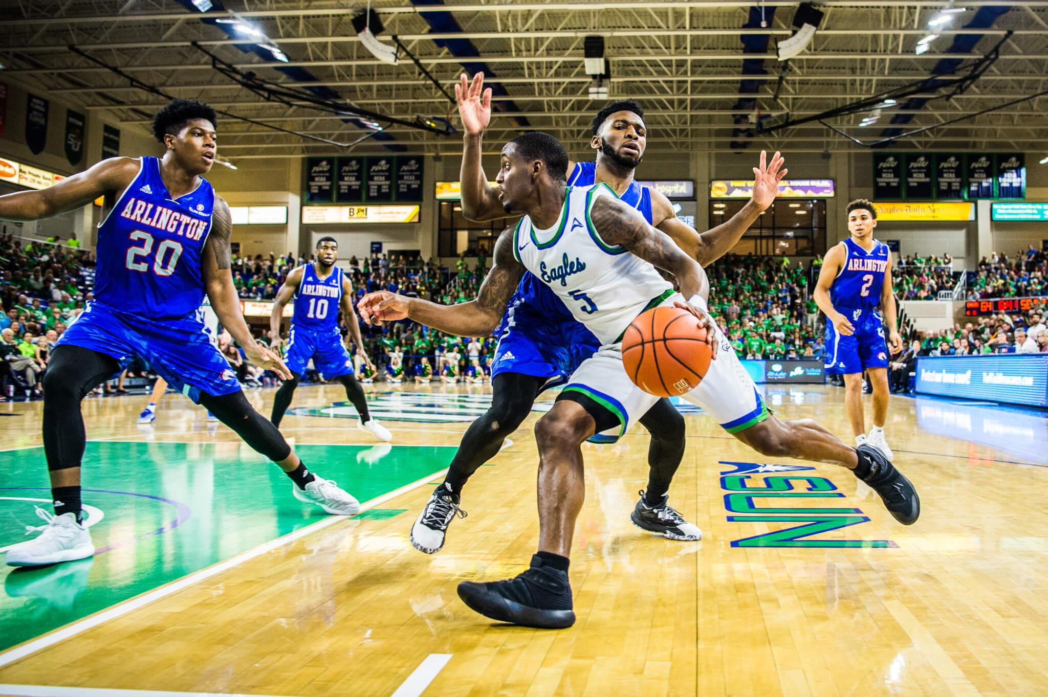 FGCU men's basketball rides big second half performance to victory