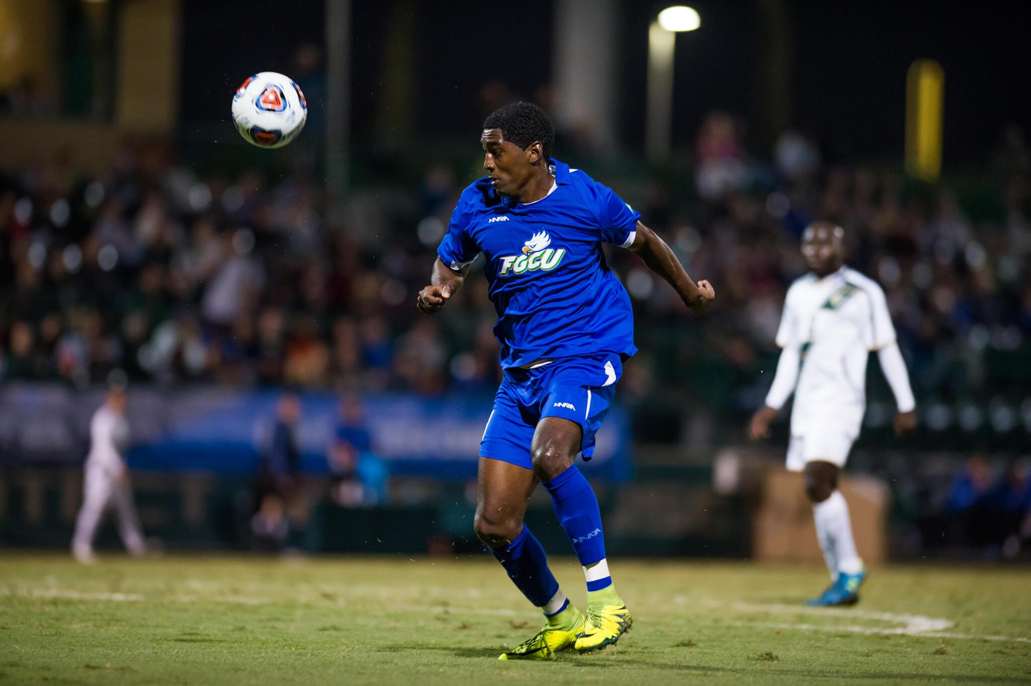 FGCU men's soccer falls to UNC in double overtime