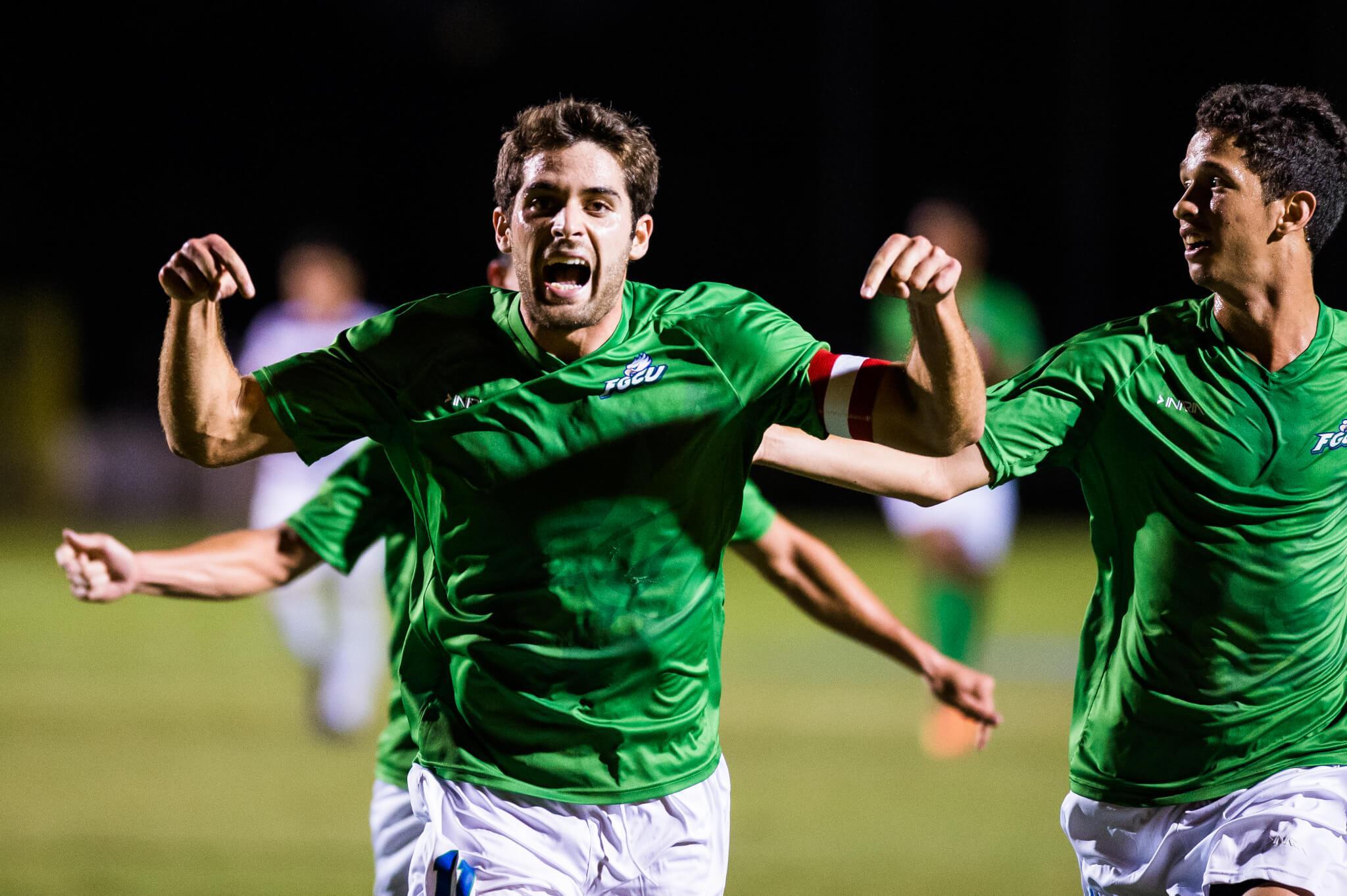 No. 20 FGCU men's soccer to host Jacksonville in the ASUN Men's Soccer Championship final