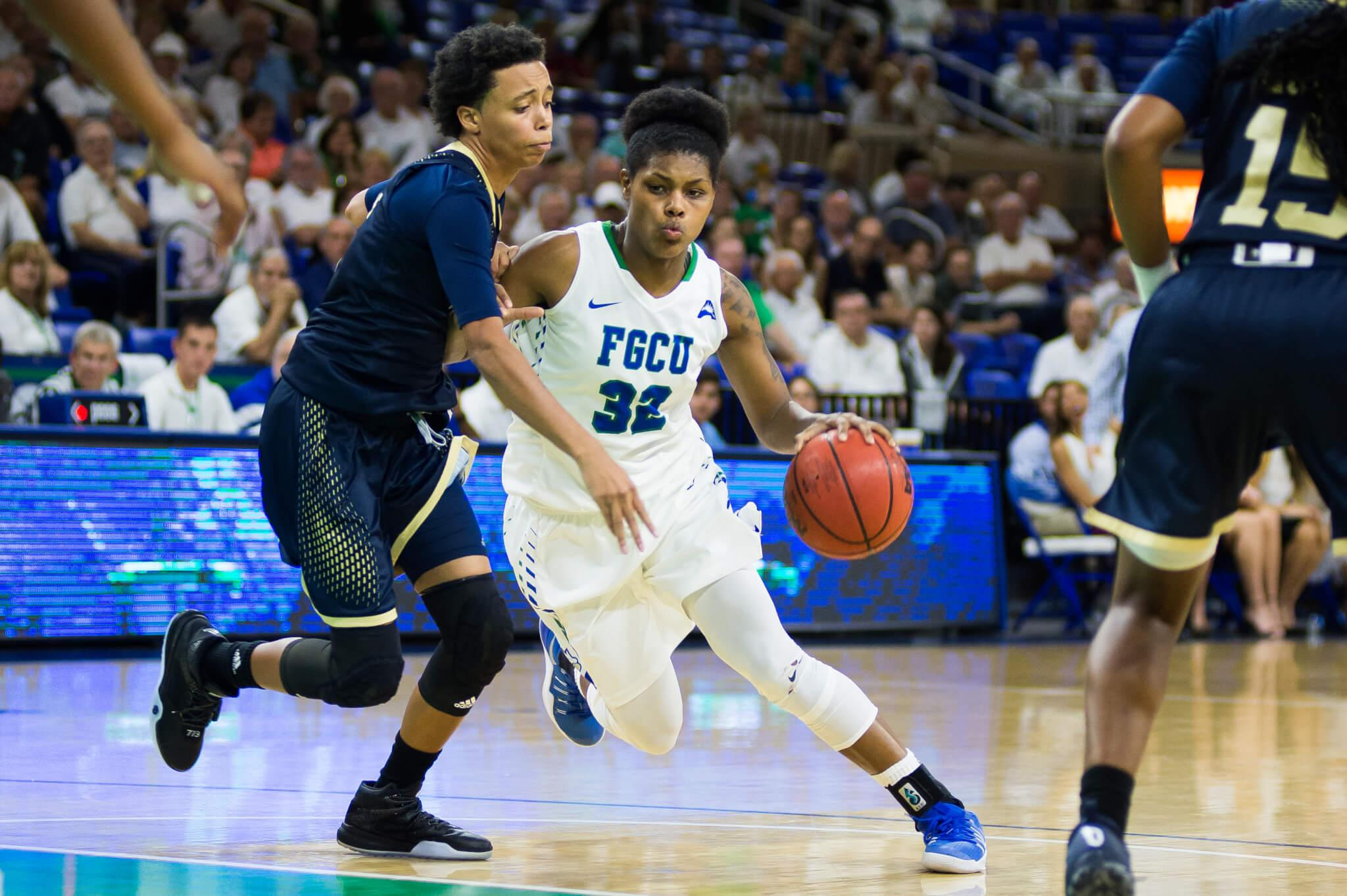 FGCU women's basketball defeats FIU 89-42 in its first home game of the season