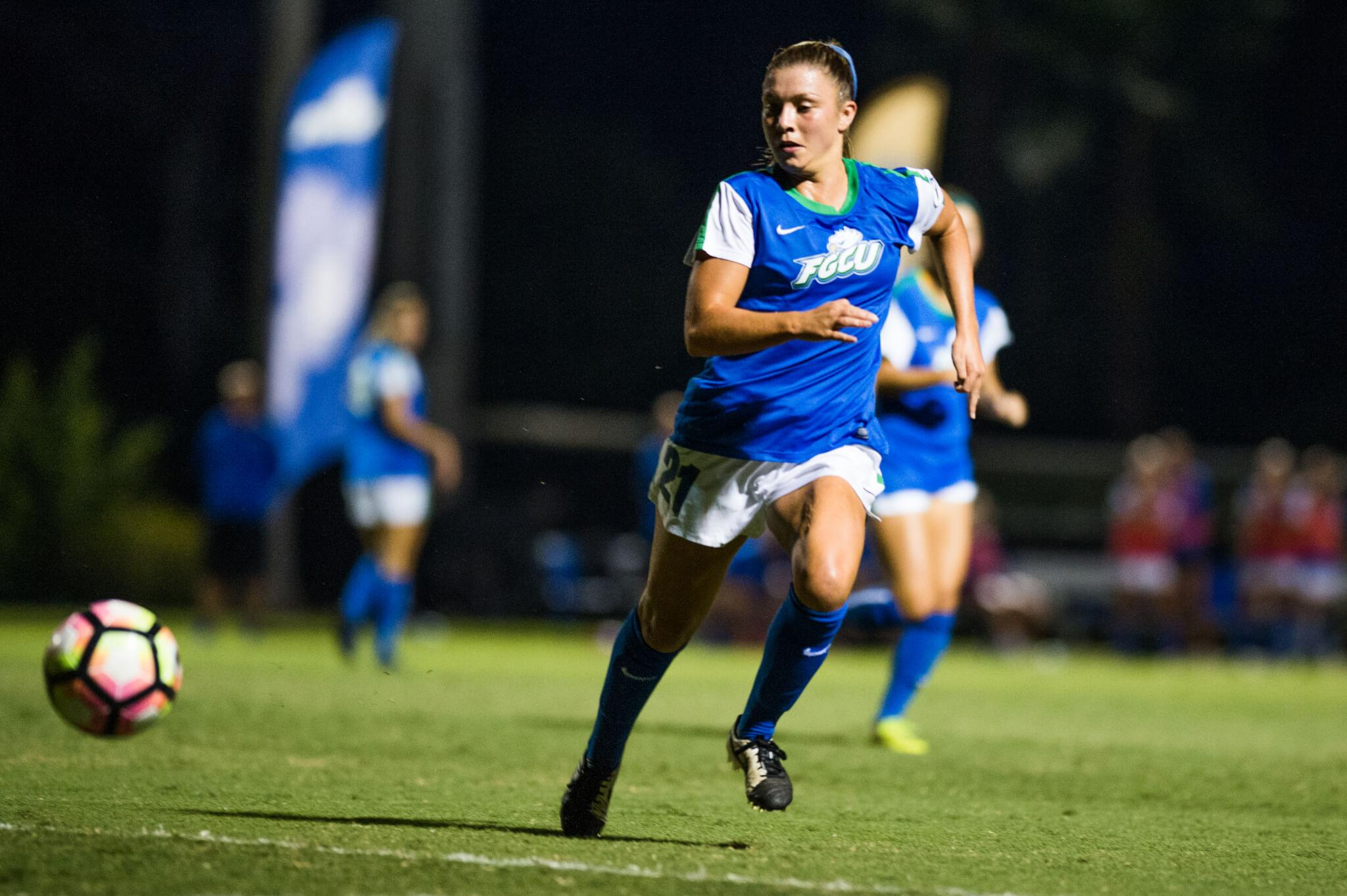 FGCU women's soccer books a spot in the ASUN final with victory over Kennesaw State
