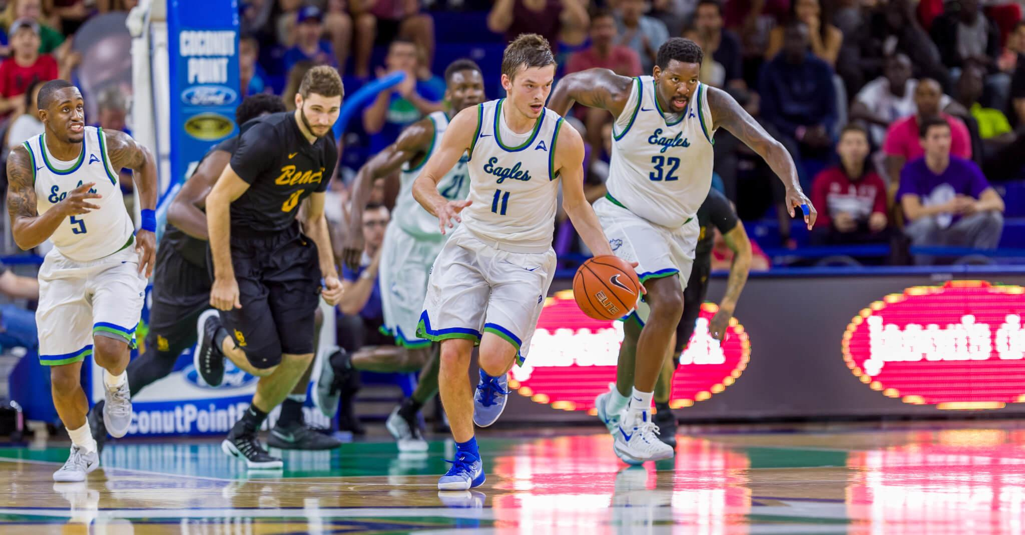 FGCU men's basketball outlast Long Beach State in overtime thriller