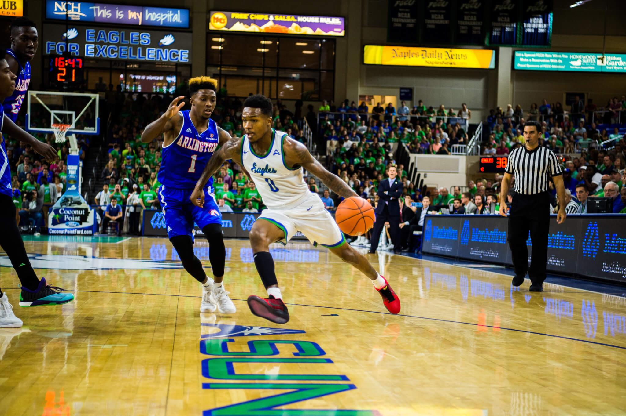 FGCU men's basketball moves to 2-0 at Alico Arena