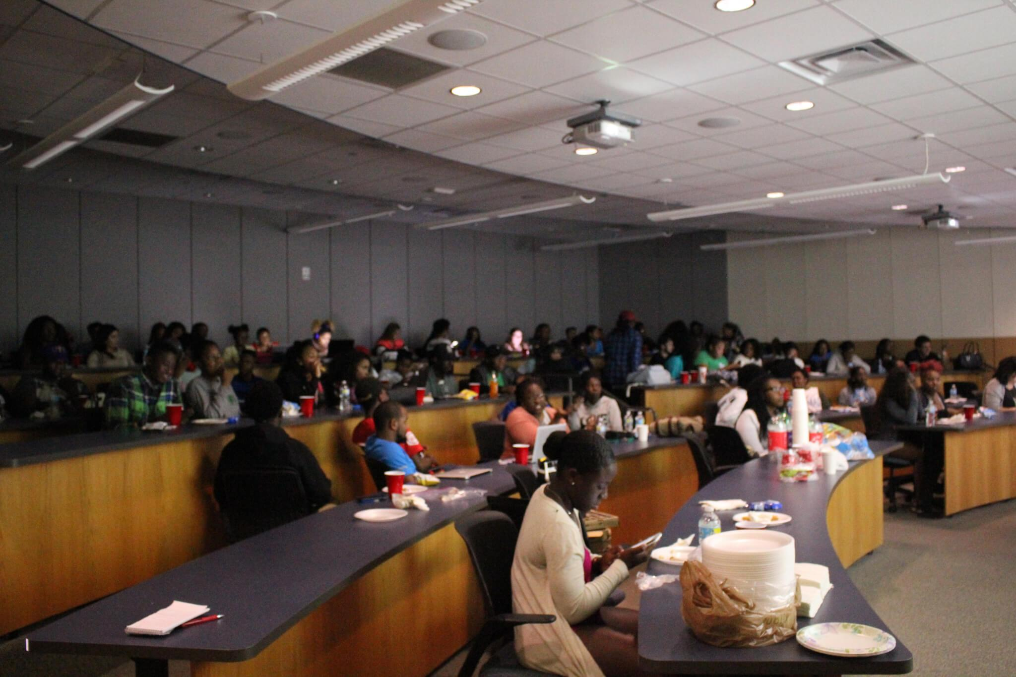 COBOL brings community  together at election viewing party