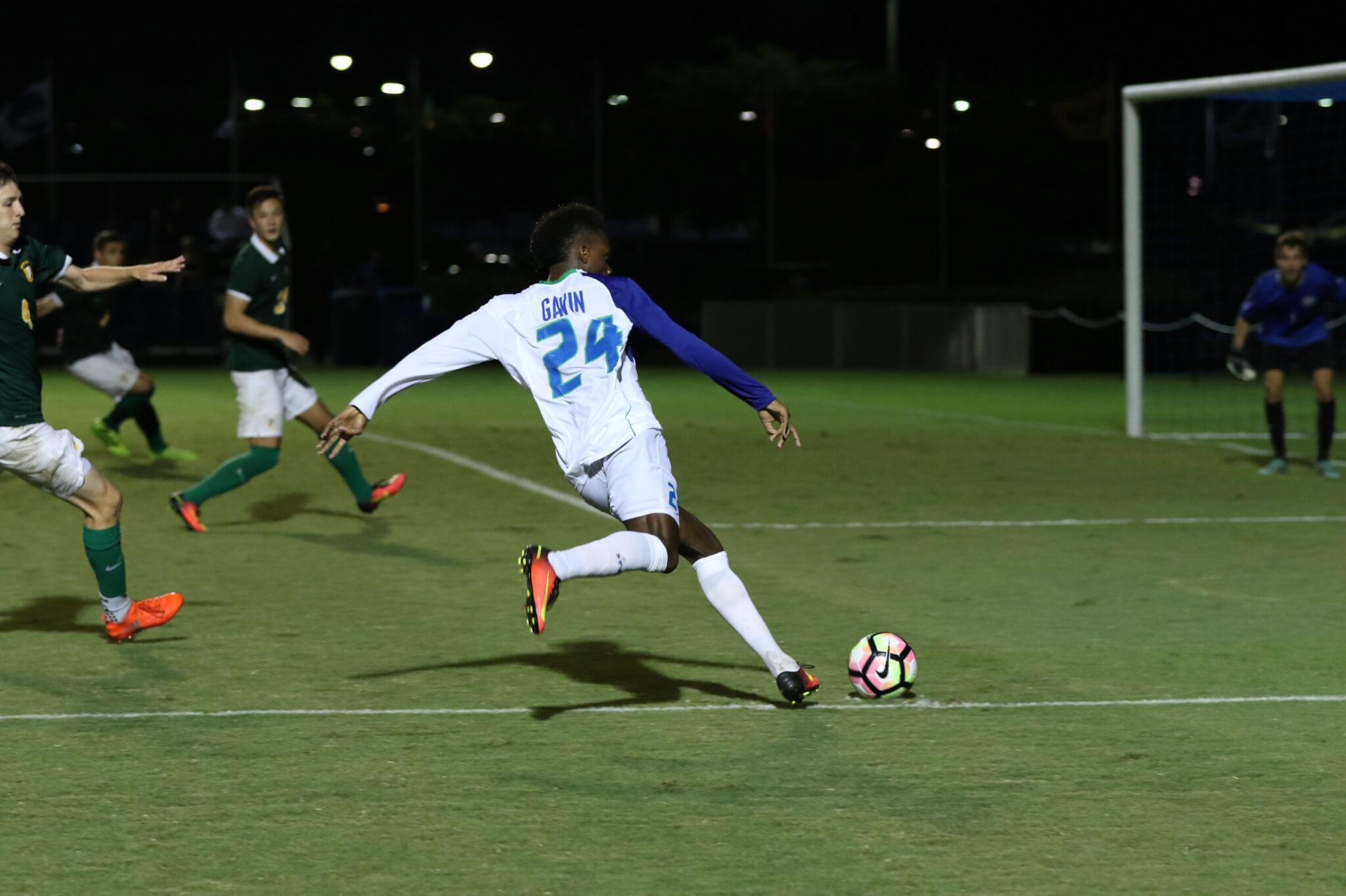 FGCU men's soccer earns 1-1 draw against Lipscomb in final contest of the regular-season