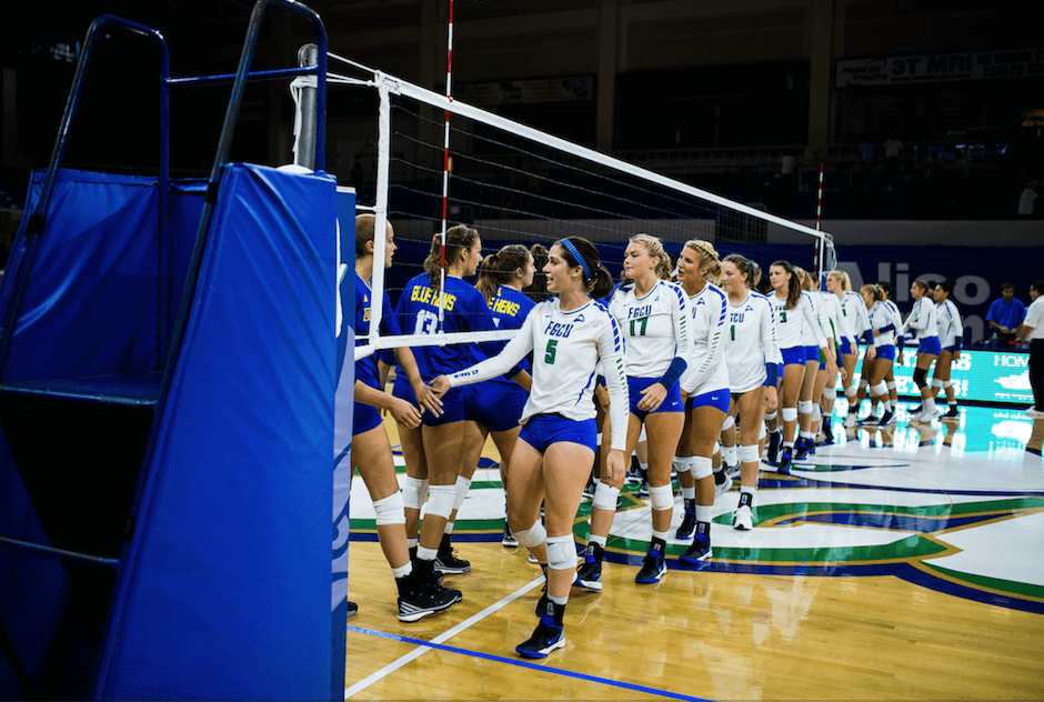FGCU volleyball advances to ASUN Championship semifinals with win over JU