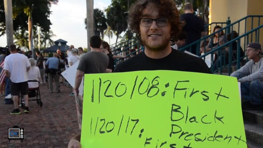 Members+of+the+community+protest+president-elect+Trump+in+Downtown+Fort+Myers