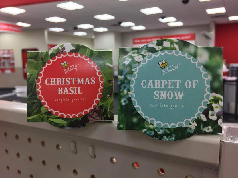 Affordable holiday trinkets at Target's Dollar Spot