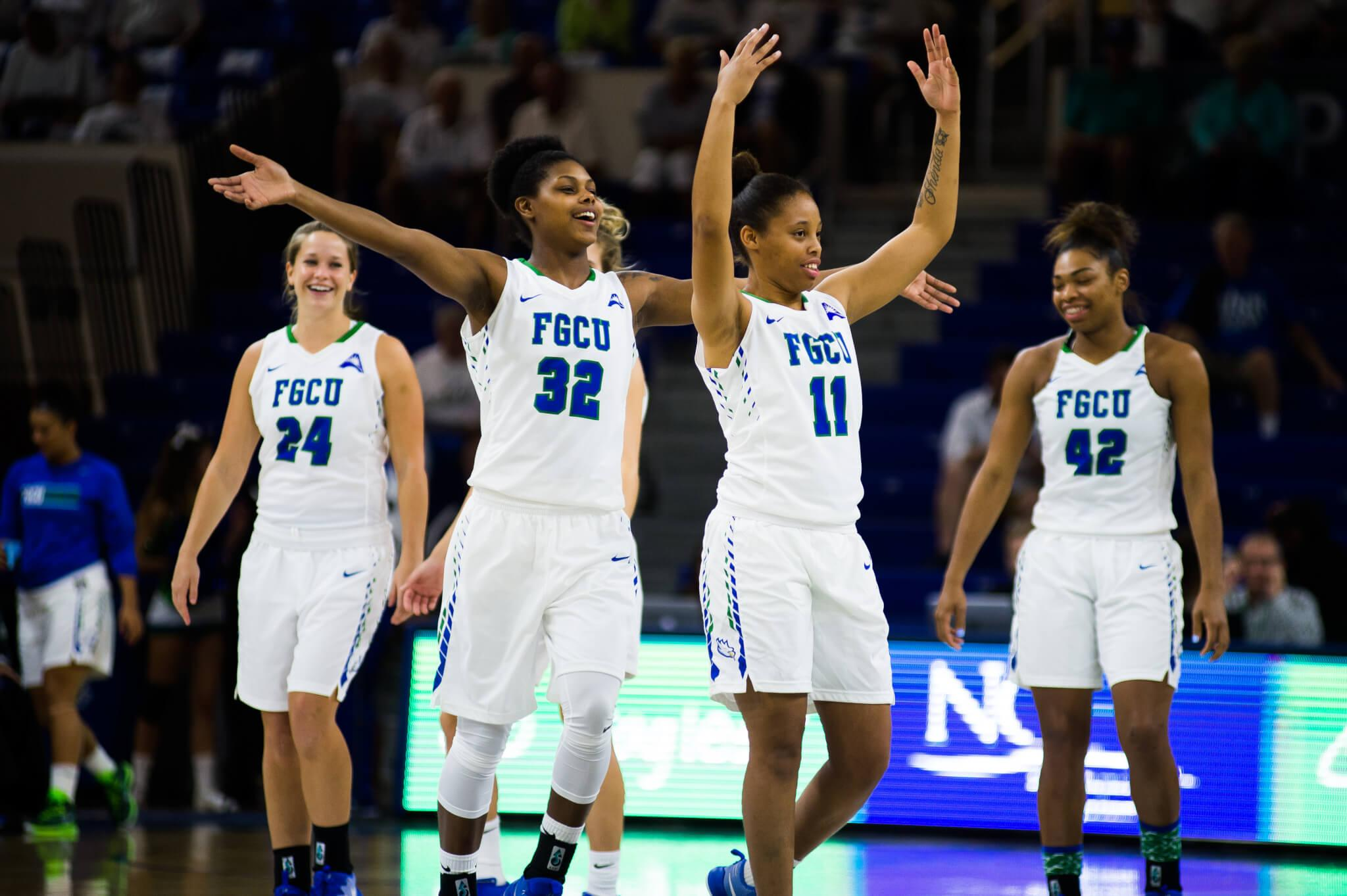 FGCU women's basketball breezes by with a win over Siena