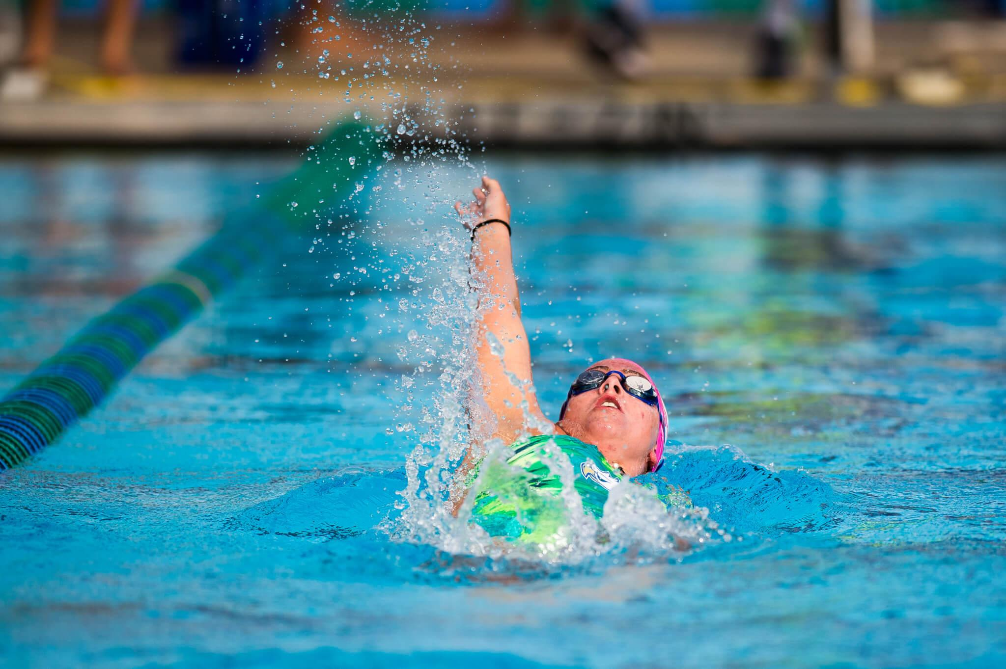 FGCU women's swim puts up a strong win against Liberty