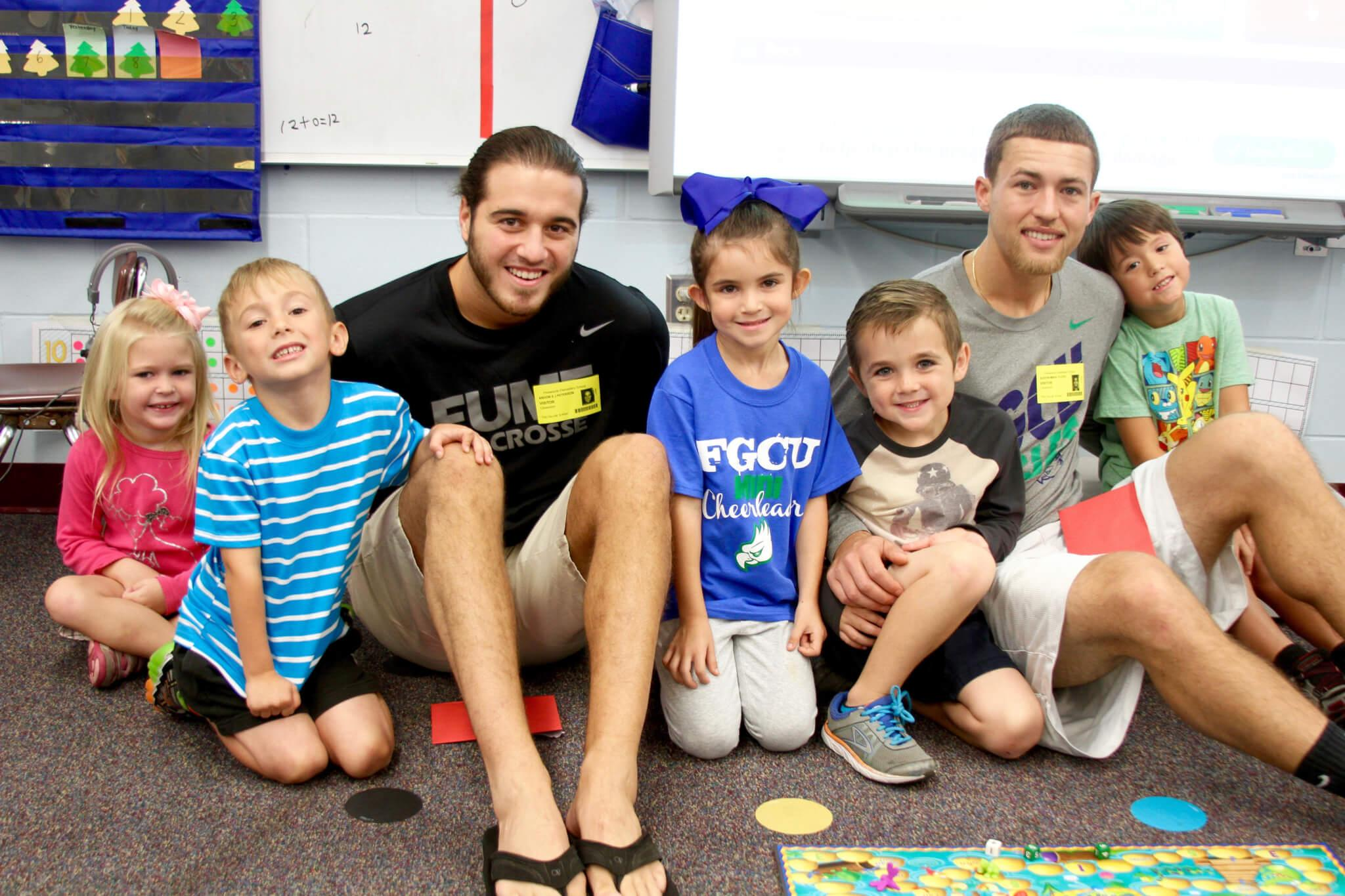 New FGCU RSO tallies 1,500 service-learning hours in its first semester