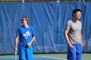 Tennis alumni match