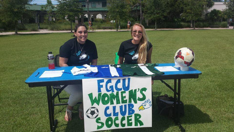 Women's club soccer continues to broaden their support for FGCU