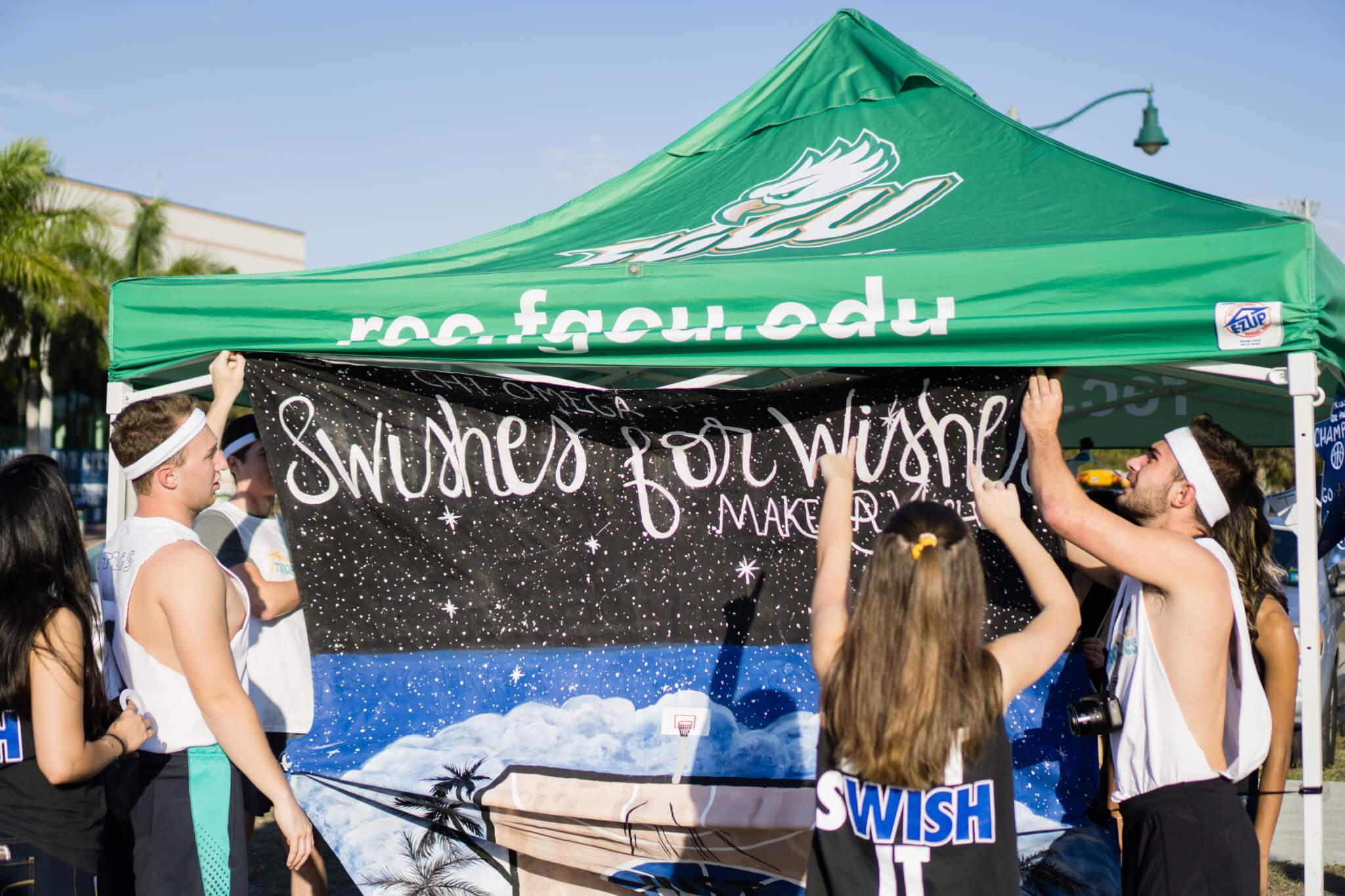 Swishes for Wishes comes to FGCU