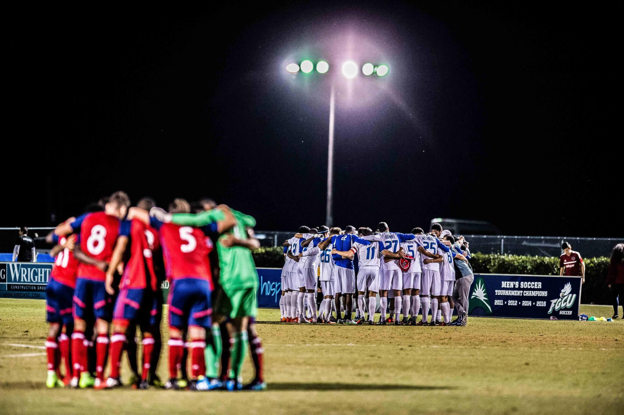 FGCU men's soccer finishes in a tie at first home game