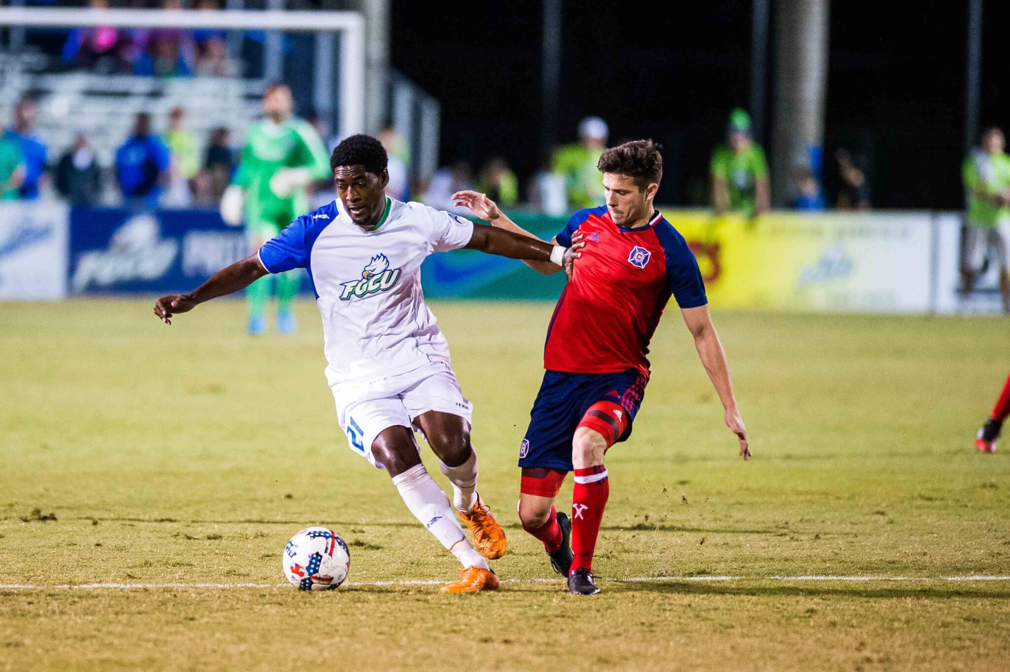 MLS team Chicago Fire holds preseason training camp at FGCU