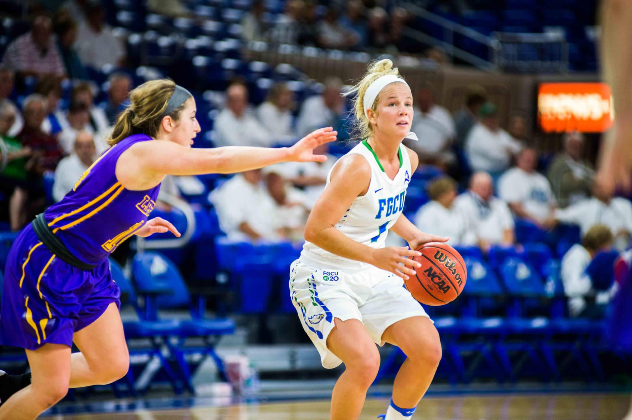 FGCU women's basketball blows past Lipscomb to remain atop the ASUN