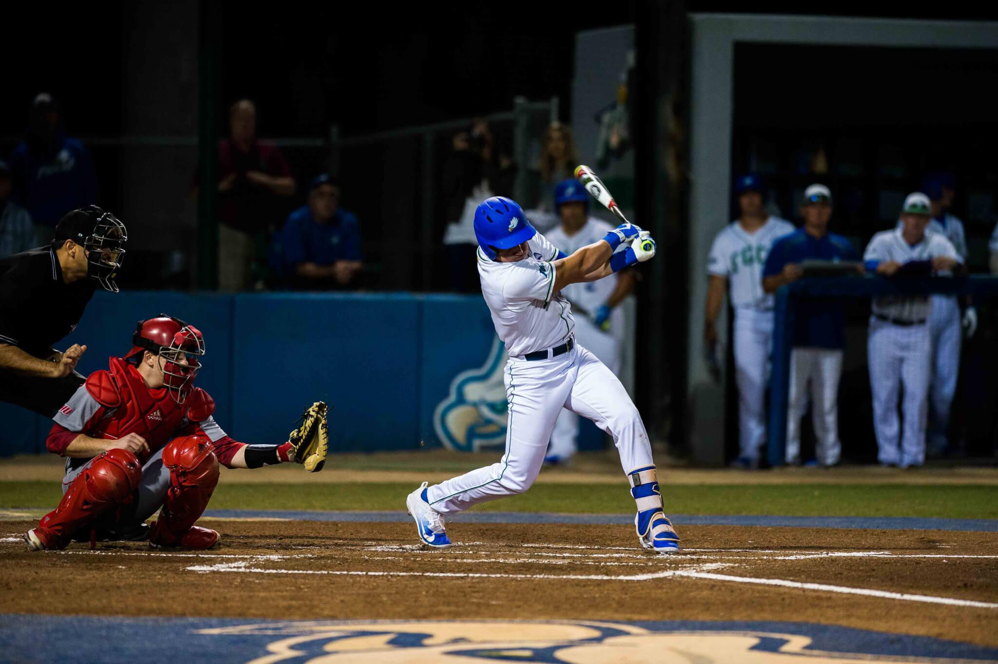 FGCU baseball opens up campaign with loss to Sacred Heart
