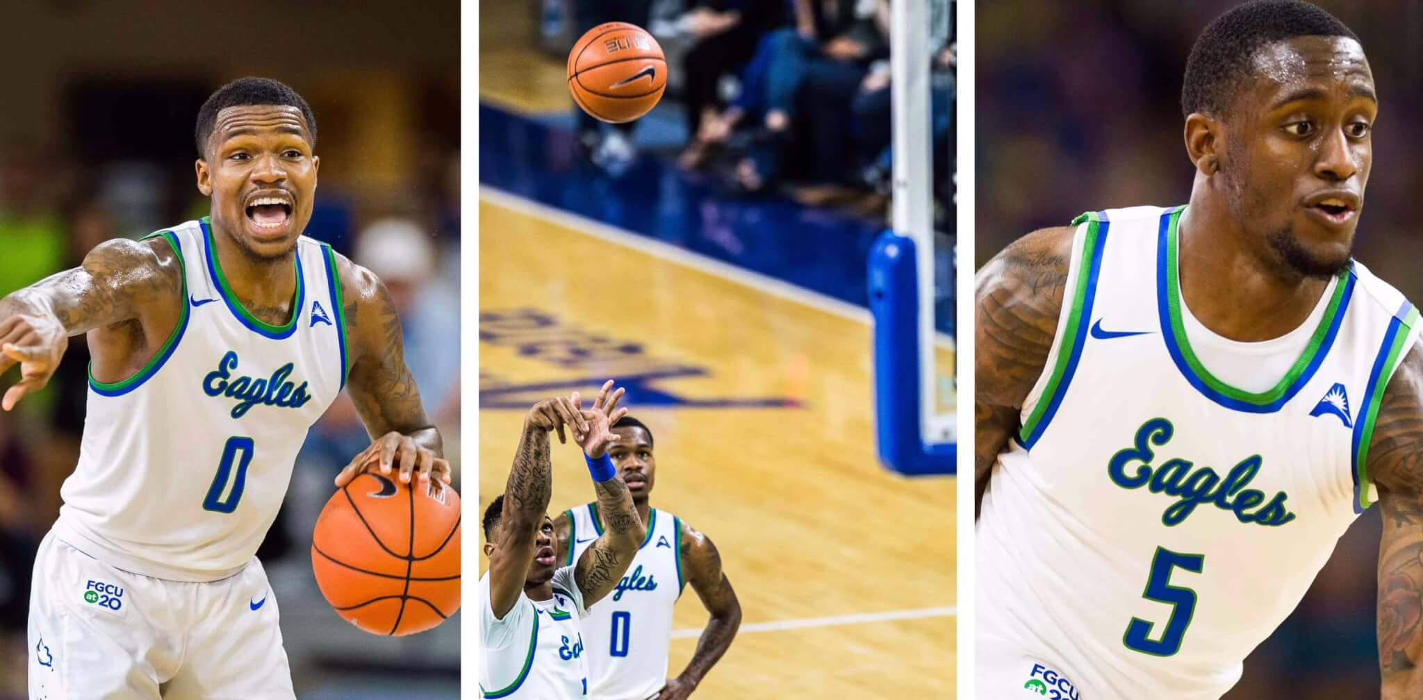 FGCU men's basketball defeats USC Upstate in overtime to earn a share of the ASUN regular-season title