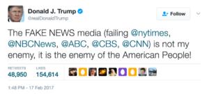 Media and Trump