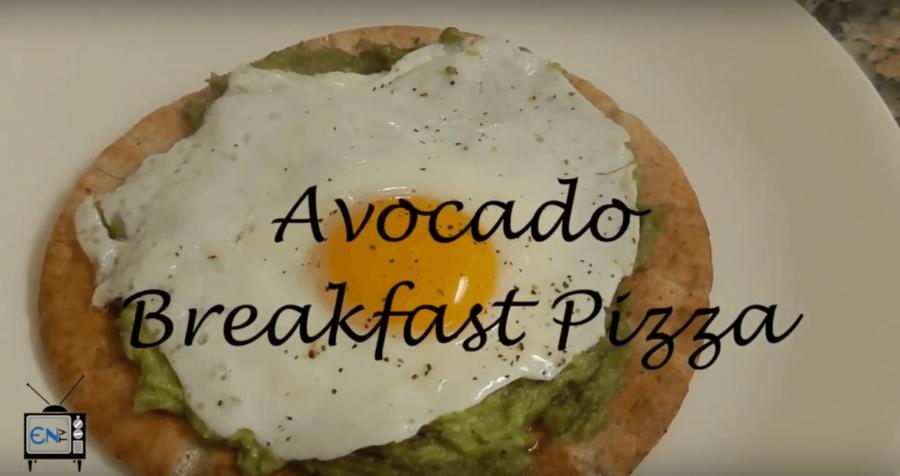 Eagle Eats: Avocado Breakfast Pizza