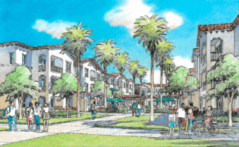Construction begins on University Village after three-year wait