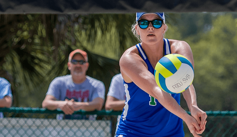 FGCU beach volleyball splits first and second day in weekend doubleheader