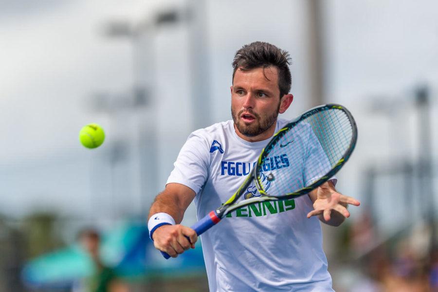 FGCU+Men%E2%80%99s+Tennis+secures+6-1+Win+Over+FAMU