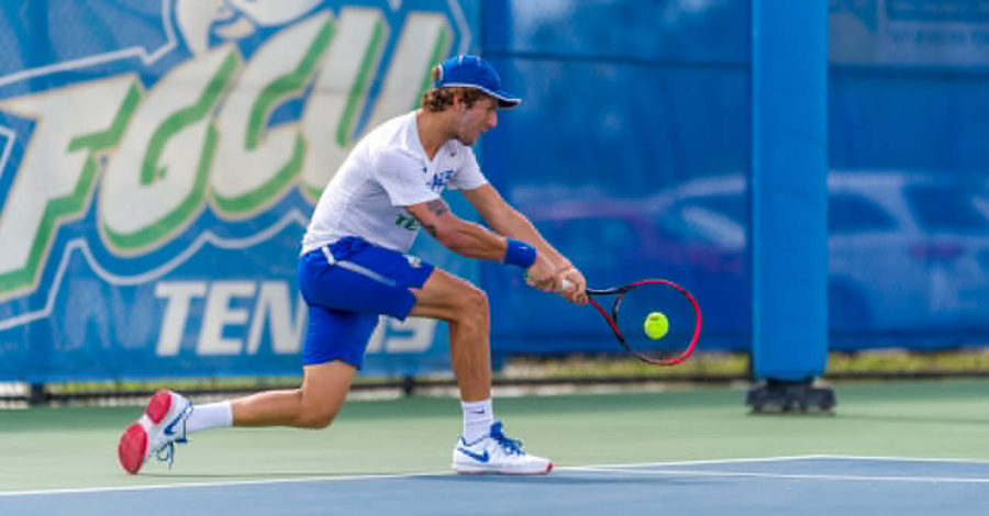 FGCU+Men%E2%80%99s+Tennis+Clips+Illinois+State+4-3