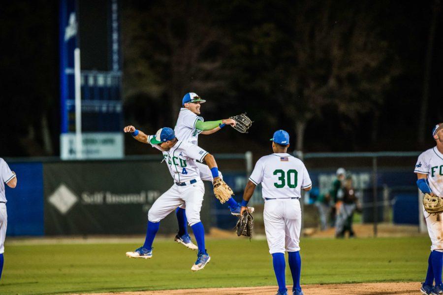 FGCU baseball defeats #22 FAU