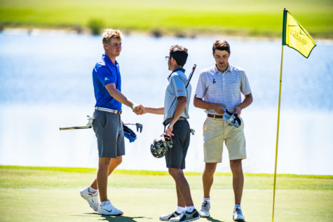 Potter leads men's golf to fourth place finish