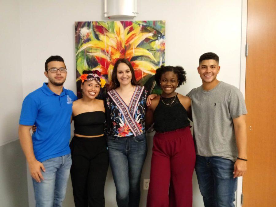 EN Photo by Trinia Oliver // From left to right: Adrian Urquiola, Eliven Cruz, Ellie Perez, Seeka Agama, Rene Dejerano.