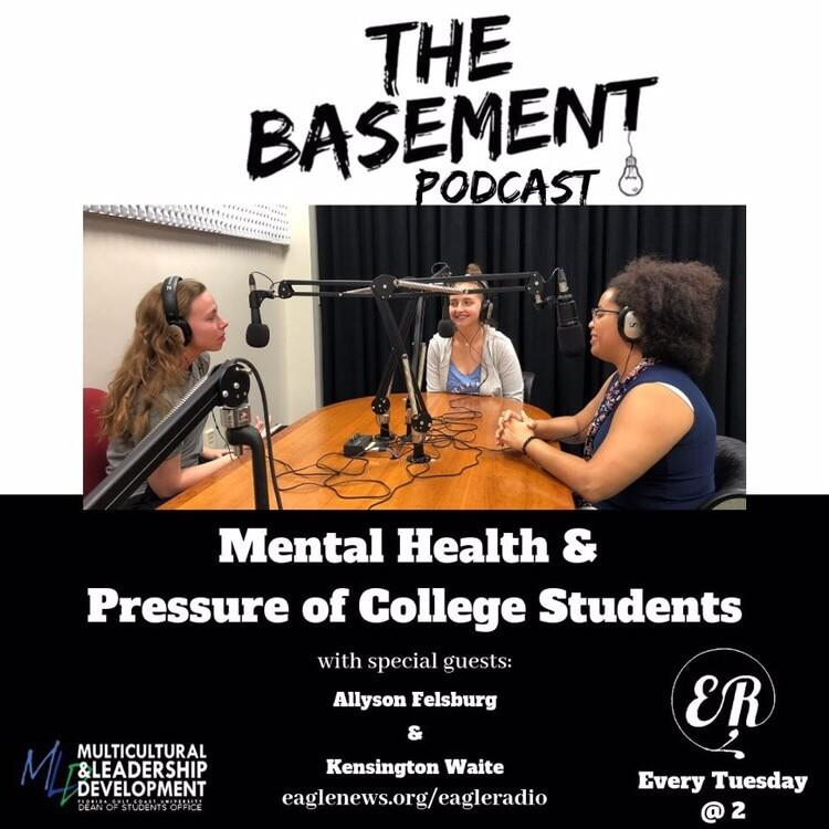The Basement Podcast: Mental Health For College Students