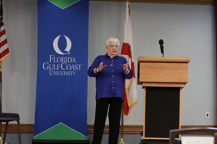 Anti-racism activist speaks at FGCU