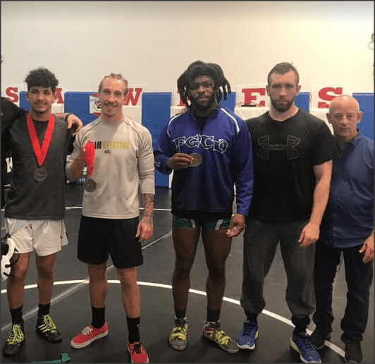 Wrestling club member wins gold in national championships