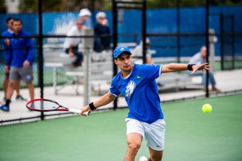 Men's tennis remains perfect in ASUN
