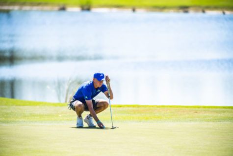 Men's golf finishes fifth in ASUN Championship