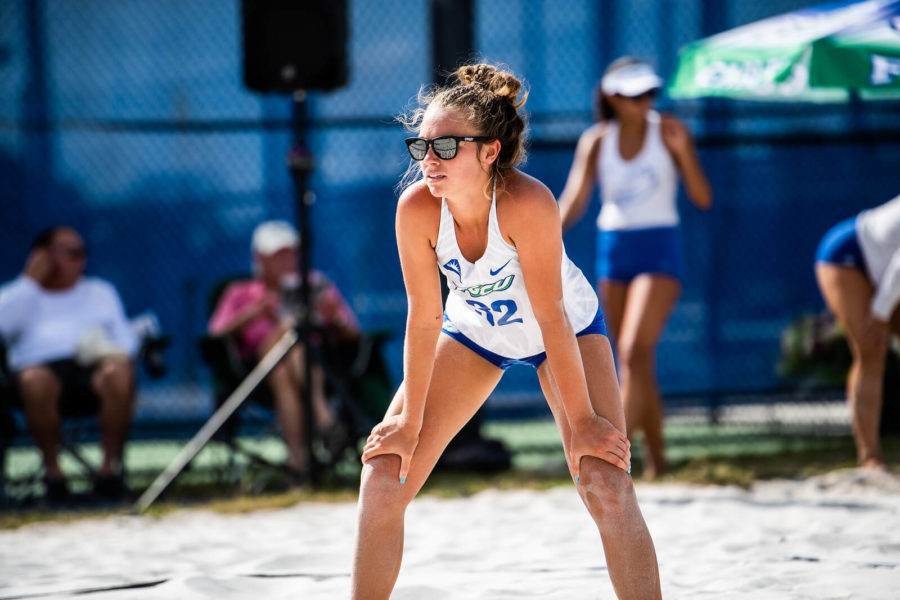 Beach+volleyball+falls+to+No.+1+Stetson+in+ASUN+championship