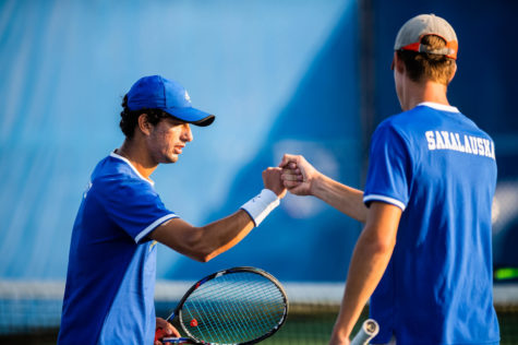 Men's tennis finishes regular season as conference champions