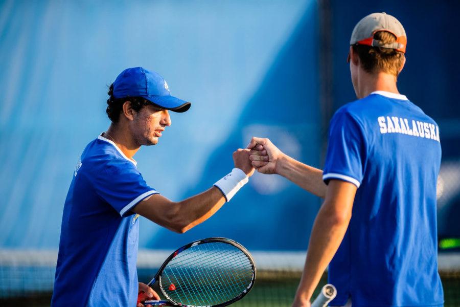 Men%E2%80%99s+tennis+finishes+regular+season+as+conference+champions