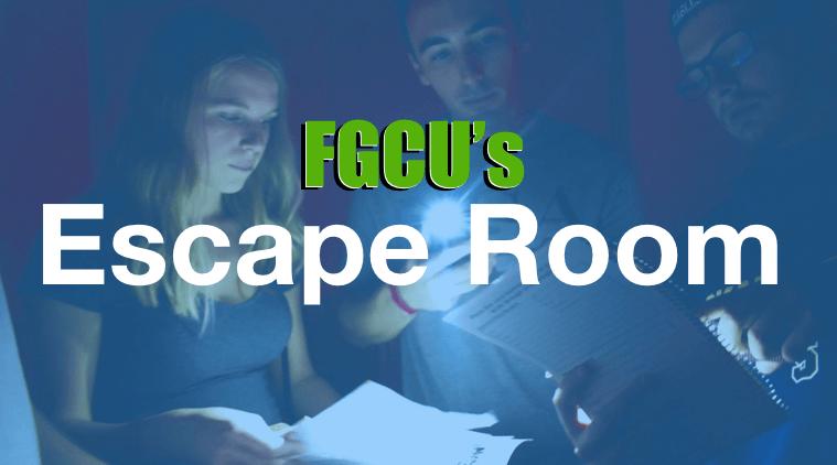 FGCU's Programming Board hosts Escape Room