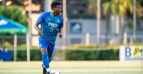 Photo Provided by FGCU Athletics // The Eagles lost to NJIT late Saturday evening 2-1 on senior night.