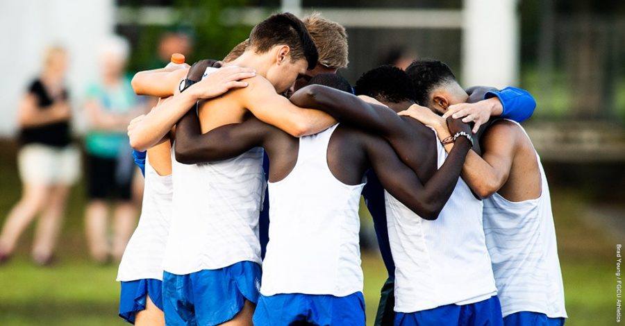 Photo Provided by FGCU Athletics // The FGCU mens and women s cross country teams concluded their season at the ASUN Championship, with the mens side finishing in fourth place and the women finishing in eighth on their side.